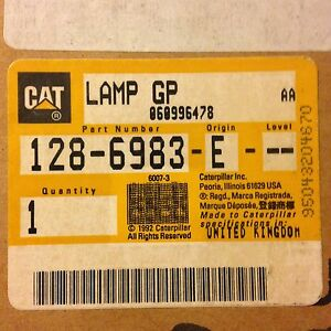 Oem Caterpillar Rotating Warning Light 128 6983