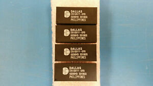 1 Pc Ds1251y 70 Dallas Real Time Clock Phantom Clock parallel 512kbyte 32 Edip