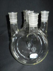 Ace Glass 2000ml 2l Vertical 24 40 Five neck Round Bottom Flask 6957 20