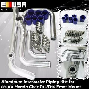 Intercooler Piping silicones clamps For 88 00 Civic D15 d16 D Series Ex si 1 6l