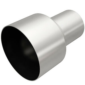 Magnaflow 10766 Exhaust Tip Adapter 3 Inlet 5 Outlet 7 Long Stainless Steel