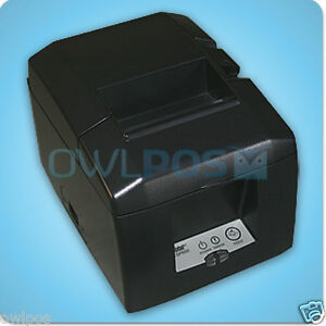 Star Tsp650 Tsp654d Thermal Pos Receipt Printer Serial Autocutter Refurb W Ps