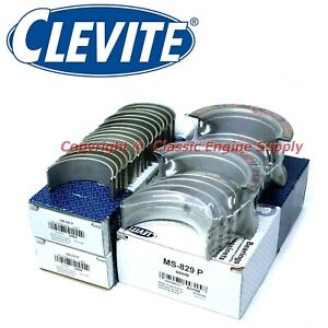 New Clevite Standard Rod Main Bearing Set 366 396 402 427 454 502 Chevy Bb
