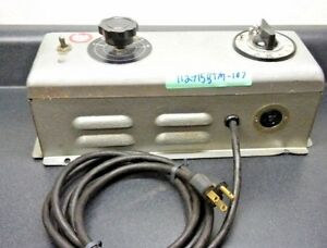 Nuarc Cp25 Lamp Power Supply 115 Volts Amps 1 0