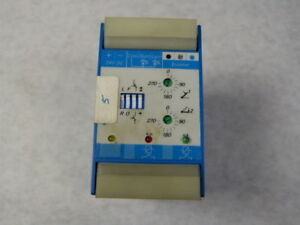 Leukhardt Bk Micro 4 8 0403 06 Time Delay Relay 24vdc Used