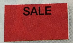 Fluorescent Red Sale Labels 4 Monarch 1110 1case 255 000 Made Usa With Inkers