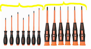 13pc Color Coded Electrician s 1000v Insulated Screwdriver Set Gs vde Certified
