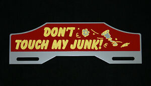 New License Plate Tag Topper Ford Chevrolet Rat Hot Rod