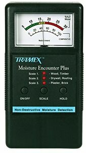 Tramex Mep Moisture Encounter Plus Moisture Meter Building Inspe