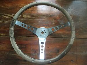 1960s Superior 500 A182 Walnut 15 3 4 Steering Wheel Amc Chevy Ford Mopar