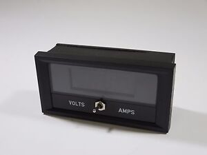 Jewell 20 900373 848404174 Dc Powered 2000 series Digital Volt amp Panel Meter