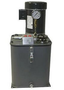 Hydraulic Power System Self Contained 5 Hp 230 460 Volts Commercial