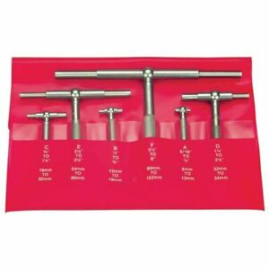 Fowler 52 470 006 0 6 Pc 5 16 6 Telescoping Gage Set