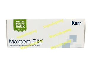 Kerr Maxcem Elite Self etch Self adhesive Resin Dental Cement Free Shipping