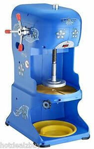 Electric Snow Cone Shaved Ice Machine Shaver Maker Crusher Icee Commercial Party