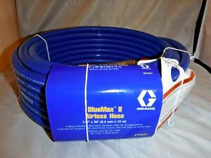 Graco Bluemax Ii Airless Hose 1 4 X 50 277241 Rated 3300 Psi