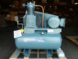 Lubricated Tank Mouted Air Compressor Lt2000500a New Other Central