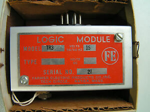 Honeywell Micro Switch Farmer Electric Tr3 Logic Module New Free Shipping