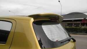 Rear Spoiler Painted For Mitsubishi Mirage 2012 2015