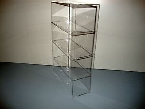 305displays Acrylic Lucite Countertop 9 1 2 X 4 X 16 Display Showcase Cabinet