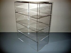 Acrylic Lucite Countertop Display Case Showcase Box Cabinet 12 X 7 X 16