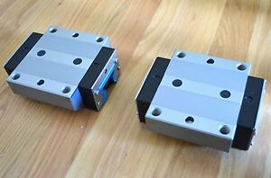 New Rexroth R185143110 Size45 Linear Roller Rail Bearing Runner Blocks Thk Cnc