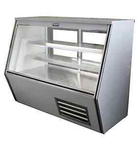 Coolman Commercial Refrigerated High Deli Meat Display Case 72