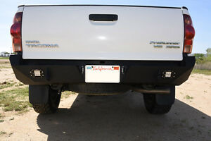 Toyota Tacoma 05 15 Rear Bumper All Models Led Holes Offroad Steel D Rings