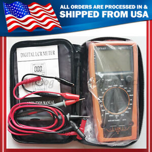 New Dm4070 Digital Lcr Meter With Free Carrying Bag
