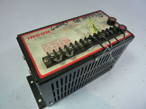 Incon 99004 000001 Dc Power Supply 15vdc Used