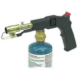 Electric Start Starter Propane Torch Push Button Portable Propane Torch New