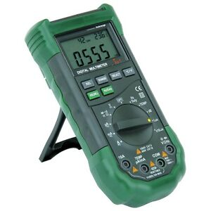 Digital Sound Voltage Luminosity Humidity Temperature Resistance Multimeter new
