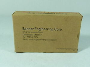 Banner 02715 Ultrasonic Sensor Right Angled New