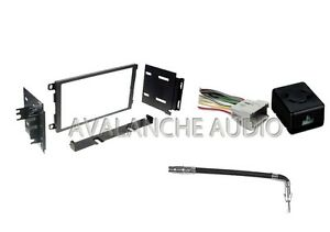 Car Stereo Double Din In Dash Trim Installation Kit For Radio Mount Receiver