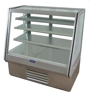 Coolman Commercial Refrigerated High Bakery Display Case 48