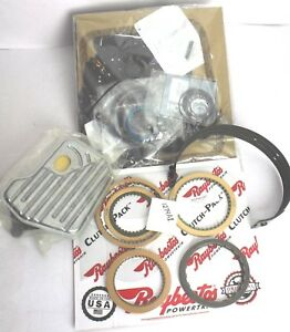 4l60e 93 97 Banner Plus Rebuild Kit Overhaul Frictions Clutches Band Filter Gmc