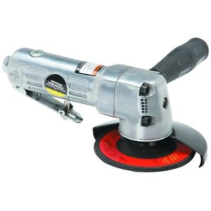 Ansi Certified Central Pneumatic 4 In Air Angle Die Saw Grinder 10 000 Rpm