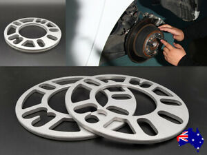 8 Mm Wheel Spacers Universal Multi fit 4 studs 5 studs 2pcs For Mercedes