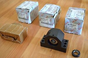 New Rexroth R159112020 Ballscrew Fixed End Support Block Bearing 20mm Id Thk