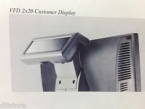 J2 Retail Systems Customer Vfd 2 X 20 Display For Models 580 615 630 And 680