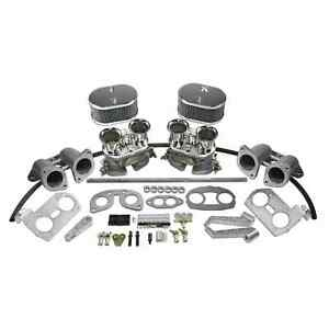 Type 4 Dual 44mm Idf Carburetor Kit W Cb Manifolds Linkage