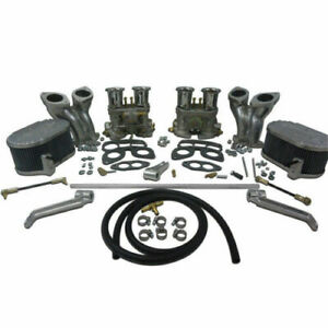 Type 1 Dual 44mm Idf Carburetor Kit W Cb Manifolds Linkage