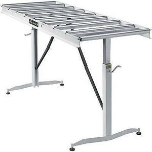Portable Conveyor Belt 9 Rollers 24 W X 66 L Commercial Industrial