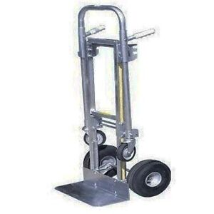 Dolly Hand Truck Converts To Platform Truck 650 Lbs Capacity Commercial