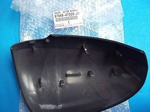 Genuine Toyota Prius Outside Mirror Cover Gray Driver Side 87945 47020 j1