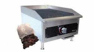Vollrath 18 Gas Charbroiler Radiant lava Rock New 40729