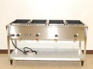 Vollrath Servewell 4 bay Electric Steam Table New 38218