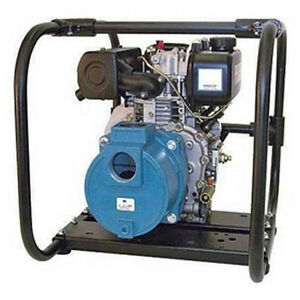 4 7hp Diesel Engine Dredge Pump 10 380 Gph 2 Inlet outlet Up To 2 Solids