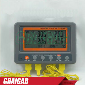 Az88598 4 Channel K Type Thermocouple Temperature Logger Sd Card Data Logger