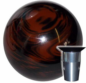 Marbled Black Brown Non Threaded Shift Knob Kit U S Made
